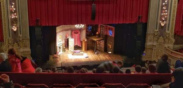 Nederlander Theatre (Chicago), secção: Balcony LC, fila: T, lugar: 335