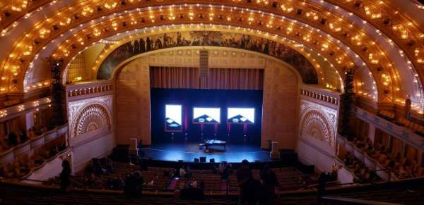 Auditorium Theatre, secção: MBLCCR, fila: M, lugar: 312