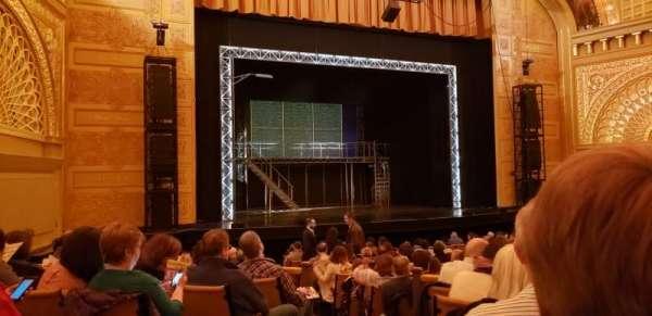 Auditorium Theatre, secção: ORCHLC, fila: U, lugar: 414
