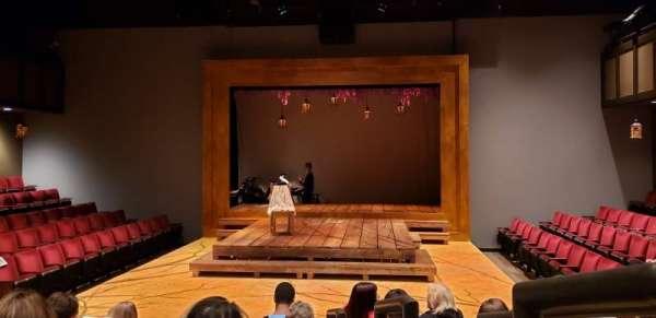 Theatre at Meiley-Swallow Hall, secção: Main Floor Center, fila: F, lugar: 101