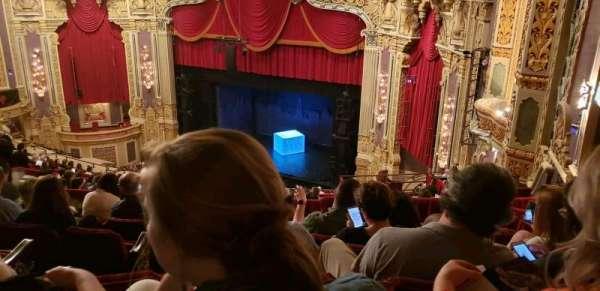 James M. Nederlander Theatre, secção: Balcony FR, fila: S, lugar: 386