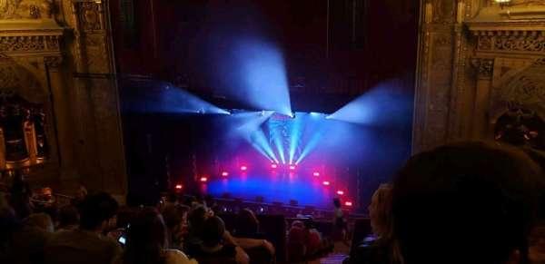 Chicago Theatre, secção: Balcony3R, fila: L, lugar: 202