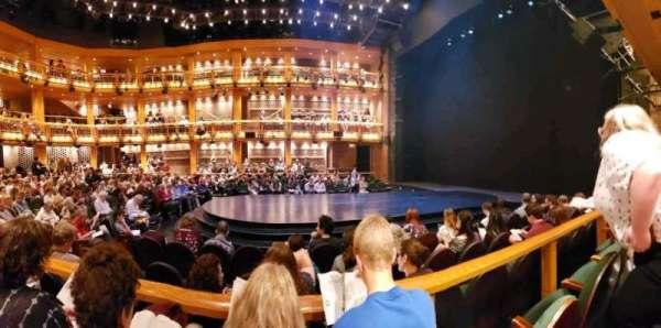 Chicago Shakespeare - Courtyard Theater, secção: Main Floor Right, fila: E, lugar: 108
