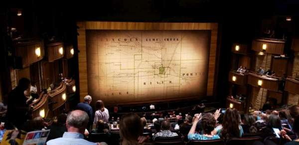 Goodman Theatre - Albert Theatre, secção: Balcony, fila: JJ, lugar: 33