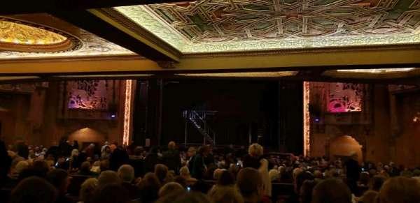 Coronado Theatre, secção: Orch5, fila: KK, lugar: 6