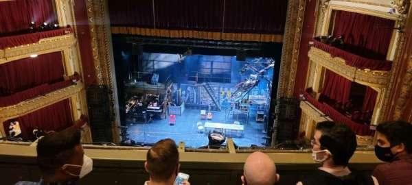 CIBC Theatre, secção: Balcony RC, fila: C, lugar: 416