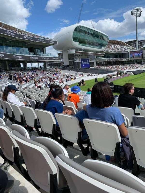 Lord's Cricket Ground, secção: C1, fila: 13, lugar: 13