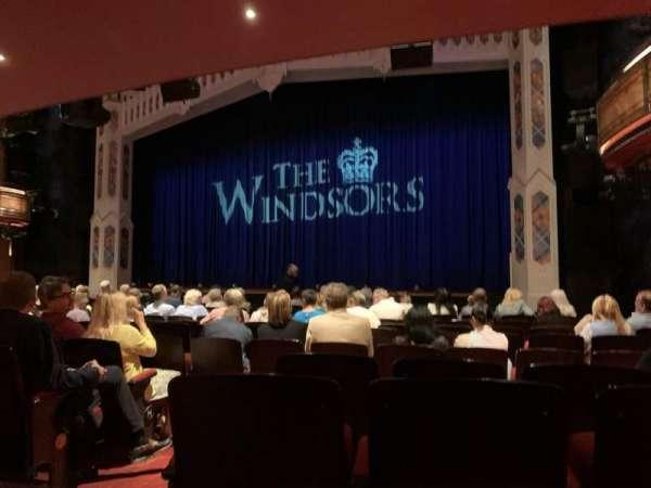 Princess of Wales Theatre, secção: Stalls, fila: M, lugar: 11