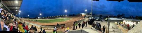 National Speedway Stadium, Belle Vue, Manchester, secção: A, fila: C, lugar: 1