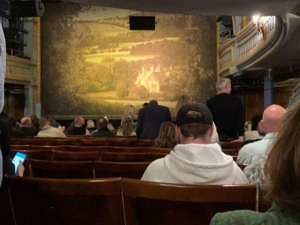 Harold Pinter Theatre, secção: Stalls, fila: O, lugar: 4