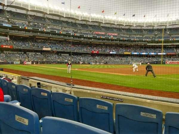 Yankee Stadium, secção: 014a, fila: 3, lugar: 1