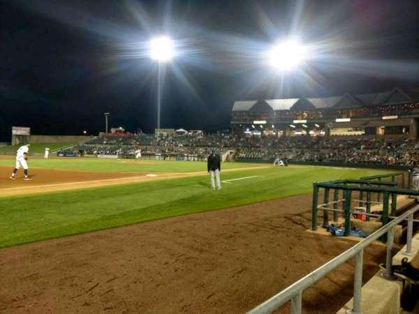 TD Bank Ballpark, secção: 120, fila: A, lugar: 3