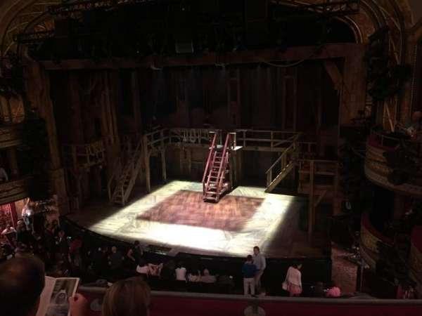 Richard Rodgers Theatre, secção: Front Mezzanine R, fila: C, lugar: 12