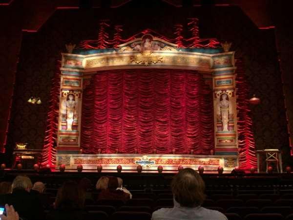 Hippodrome Theatre, secção: Orchestra, fila: J, lugar: 110