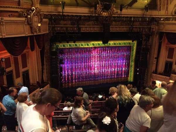 Hippodrome Theatre, secção: Left Middle Balcony, fila: J, lugar: 205