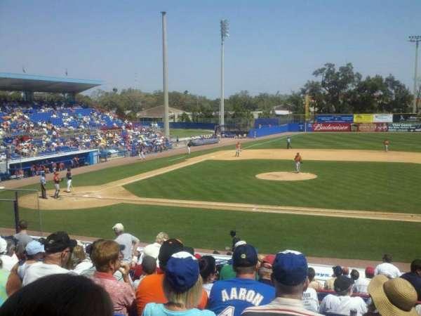 Florida Auto Exchange Stadium, secção: 203, fila: 9, lugar: 4