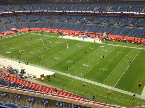 Empower Field at Mile High Stadium, secção: 503, fila: 5, lugar: 7