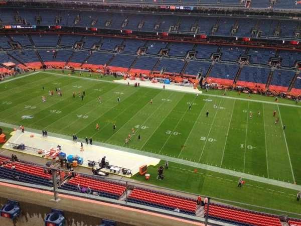 Empower Field at Mile Stadium, secção: 505, fila: 3, lugar: 13