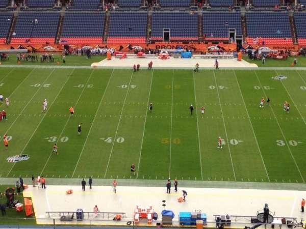 Broncos Stadium at Mile High, secção: 509, fila: 8, lugar: 4