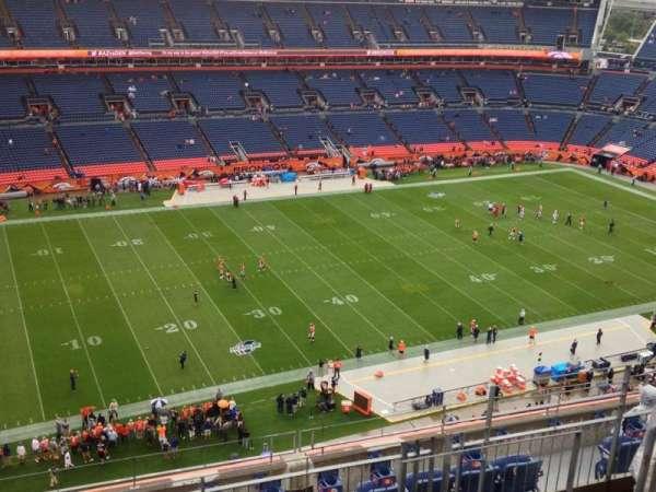 Broncos Stadium at Mile High, secção: 513, fila: 11, lugar: 9