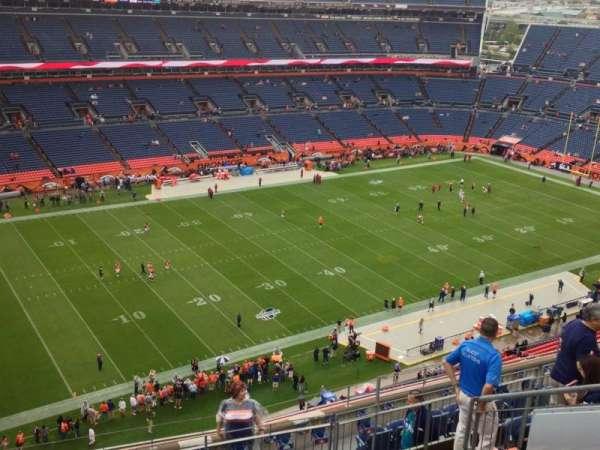Broncos Stadium at Mile High, secção: 514, fila: 9, lugar: 13