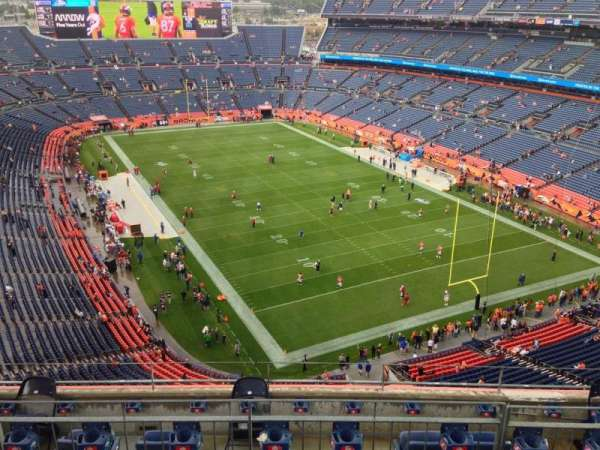 Empower Field at Mile High Stadium, secção: 526, fila: 7, lugar: 7