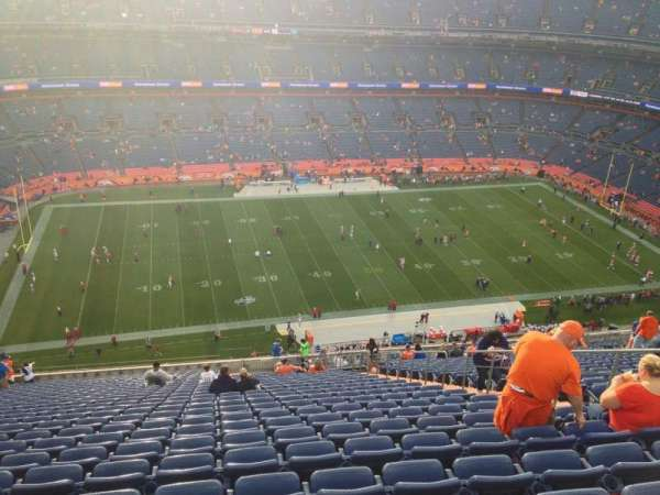 Broncos Stadium at Mile High, secção: 538, fila: 27, lugar: 25