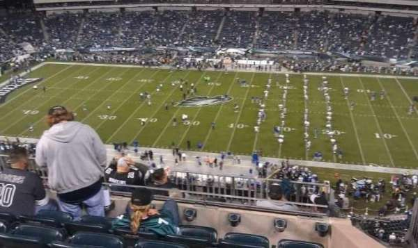 Lincoln Financial Field, secção: 226, fila: 9, lugar: 8