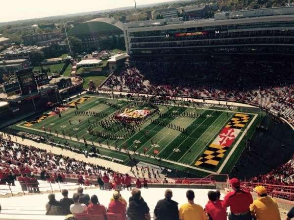 Maryland Stadium, secção: 312, fila: KK, lugar: 27