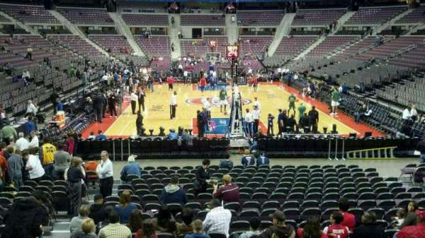 The Palace of Auburn Hills, secção: 107, fila: g, lugar: 012