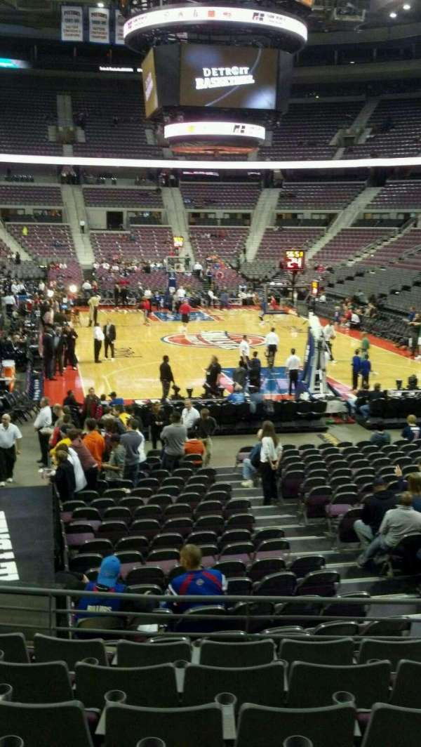 The Palace of Auburn Hills, secção: 108, fila: j, lugar: 006