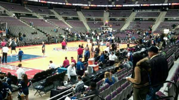 The Palace of Auburn Hills, secção: 116, fila: a, lugar: 008