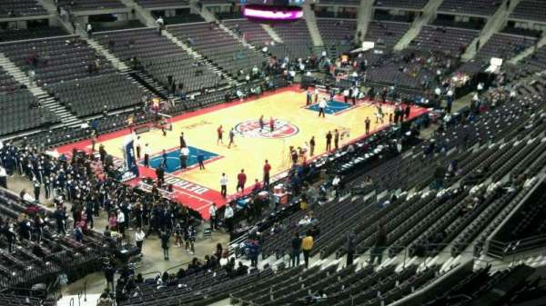The Palace of Auburn Hills, secção: 220, fila: 4, lugar: 001