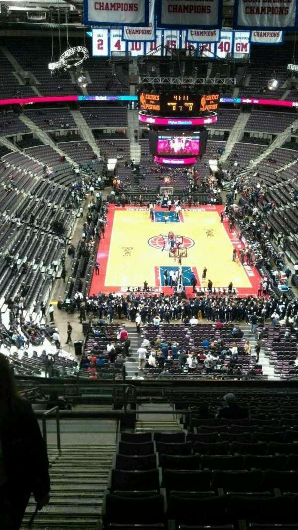 The Palace of Auburn Hills, secção: 223, fila: 19, lugar: 022