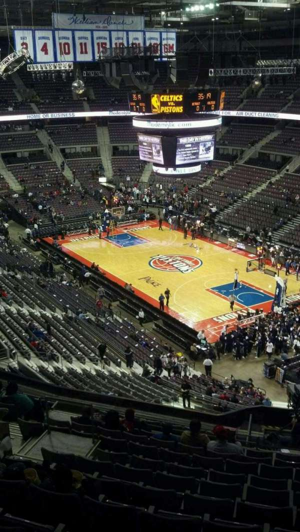 The Palace of Auburn Hills, secção: 226, fila: 13, lugar: 12