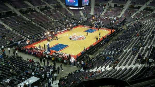 The Palace of Auburn Hills, secção: 205, fila: 8, lugar: 013