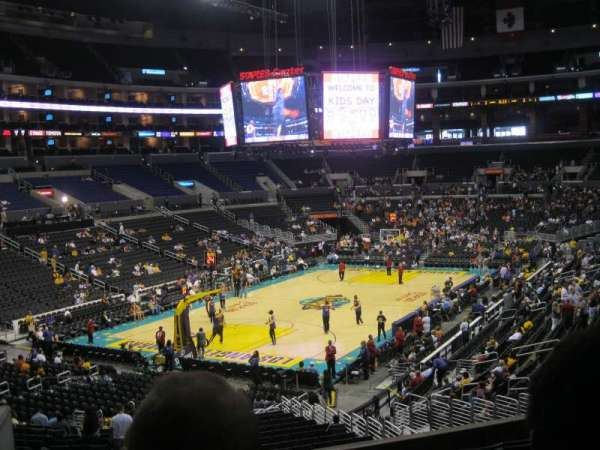 Staples Center, secção: 205, fila: 9, lugar: 15