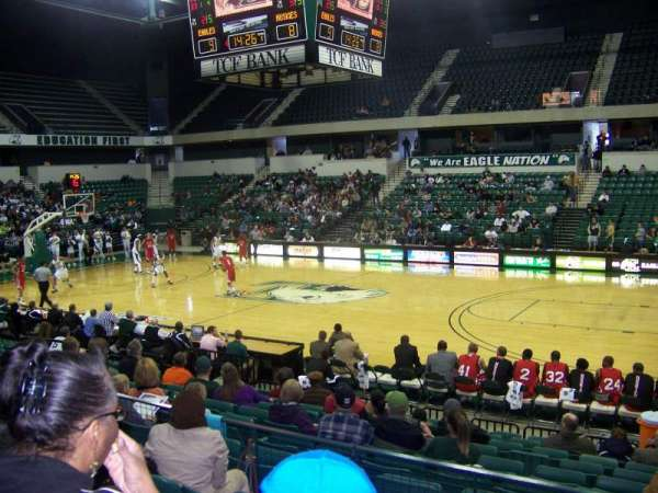 Convocation Center (Eastern Michigan University), secção: 108, fila: 11, lugar: 17