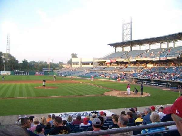 NBT Bank Stadium, secção: 208, fila: 2, lugar: 7