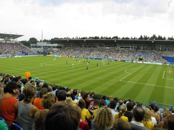 Saputo Stadium, secção: 120, fila: Y, lugar: 6