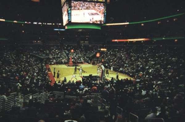 Capital One Arena, secção: 115, fila: S, lugar: 17