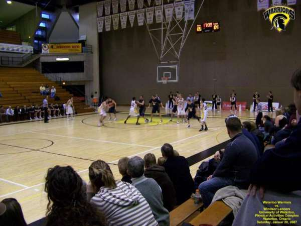 Physical Activities Complex (Waterloo), secção: GA