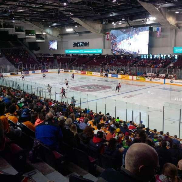 TD Place Arena, secção: 16, fila: R, lugar: 12