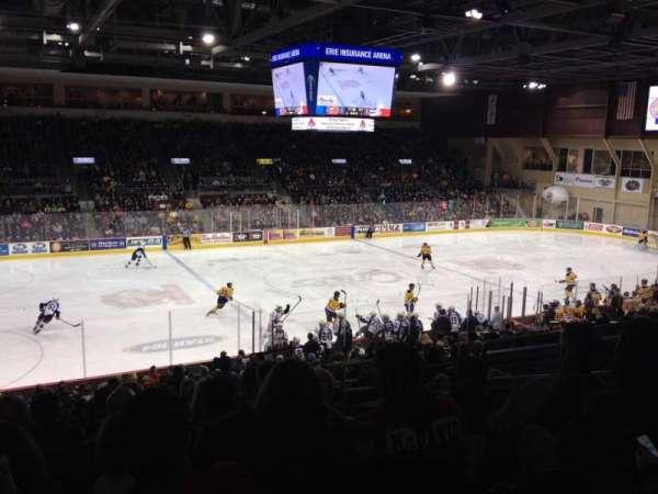 Erie Insurance Arena, secção: 217, fila: X, lugar: 6