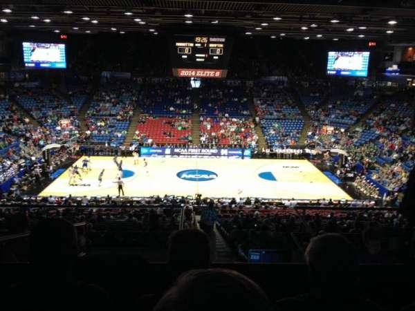 University of Dayton Arena, secção: 304, fila: H, lugar: 10