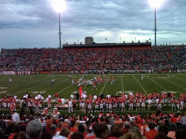 Doyt Perry Stadium, secção: 13, fila: 25, lugar: 17