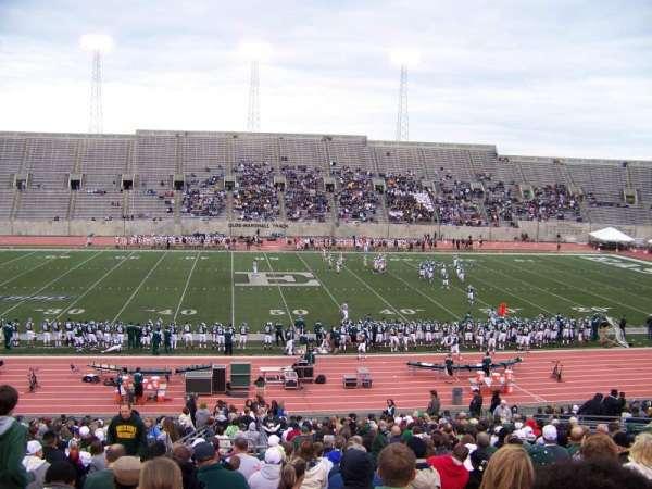 Rynearson Stadium, secção: 105, fila: II, lugar: 26