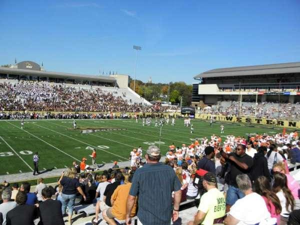 Waldo Stadium, secção: F, fila: 5, lugar: 25