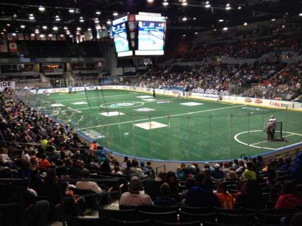 Blue Cross Arena, secção: 113, fila: Q, lugar: 23
