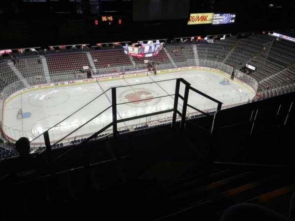 Scotiabank Saddledome, secção: PL8, fila: 7, lugar: 16